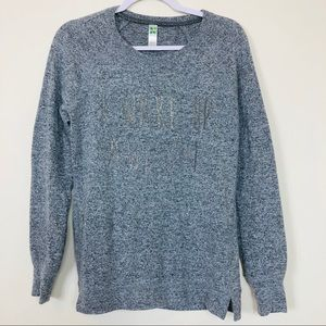 """Green Tea """"I Wake Up Awesome""""  Pullover Top Medium"""